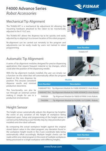 F4000 Advance Series Robot Accessories