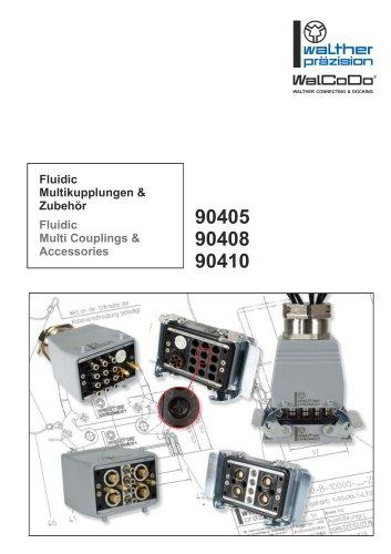 Fluidic Multi Couplings & Accessories