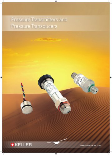Pressure Transmitters and Pressure Transducers