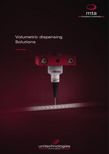 mta® volumetric dispensing solutions