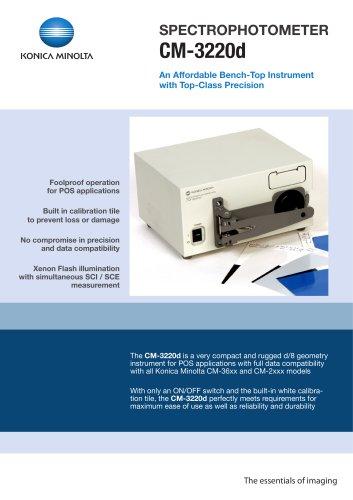 CM-3220d Spectrophotometers