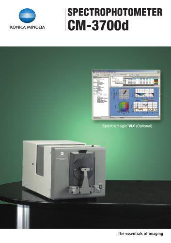 CM-3700d Spectrophotometer (spectral type, side port)