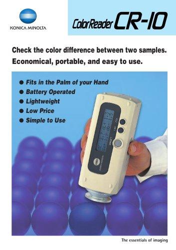 Color Readers CR-10 / CR-11 / CR-13