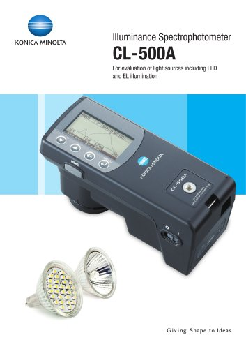 Incident Color Meter CL-500A