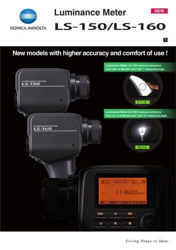 Luminance Meters LS-150 / LS-160