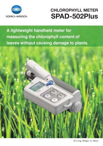 SPAD-502Plus Chlorophyll Meter