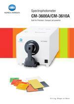 Spectrophotometers / Bench Top CM-3600A / CM-3610A