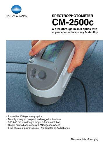 Spectrophotometers / Portable CM-2500c