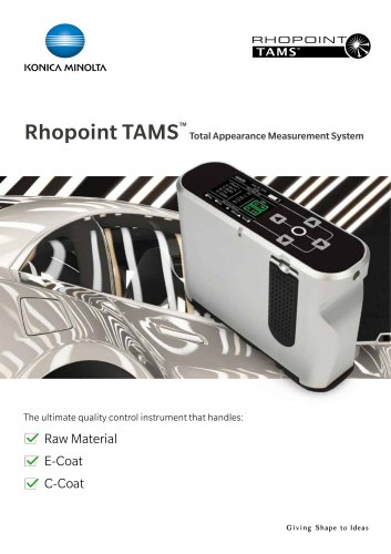 TAMS™ Total Appearance Measurement System