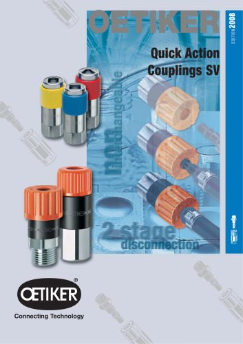 Quick Action Couplings SV