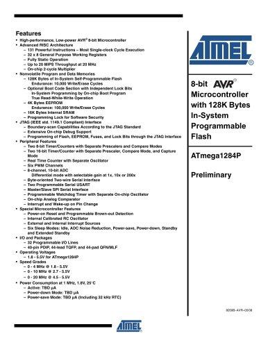ATmega1284P Preliminary