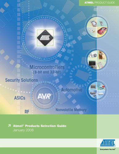 Atmel Product Selection Guide - Jan 2008