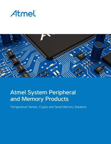 Atmel System Peripheral and Memory Products Brochure