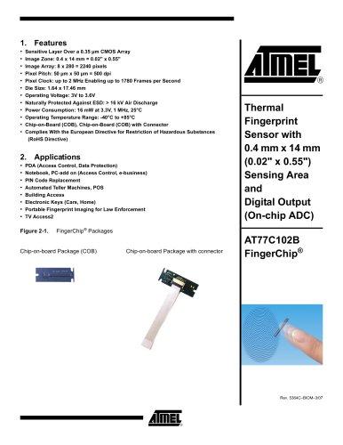 Biometrics (Fingerprint Sensor)