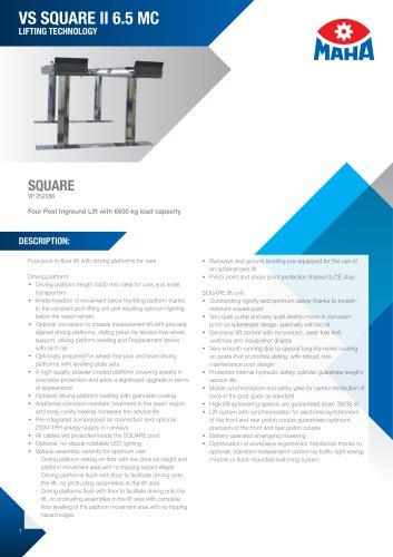 VS SQUARE II 6.5 MC