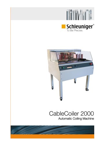 CableCoiler 2000 Automatic coiling machine