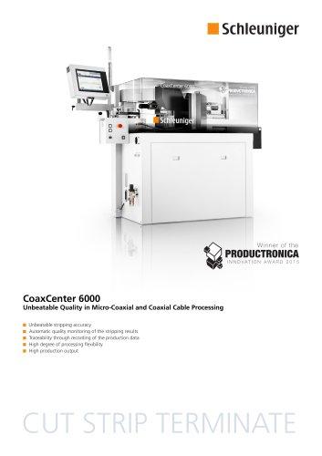 CoaxCenter 6000 Datasheet