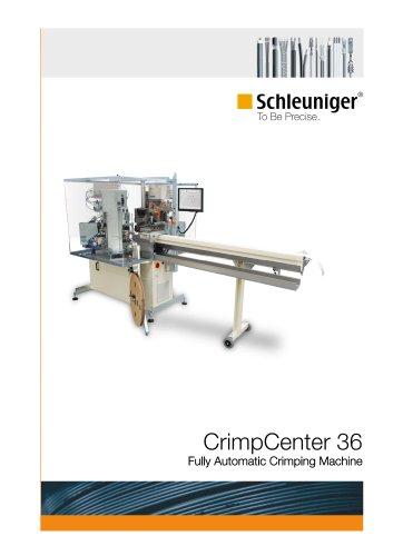 CrimpCenter 36 fully automatic crimping machine