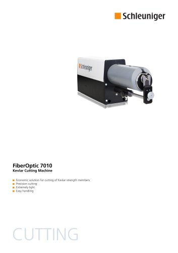 FiberOptic 7010 Data Sheet