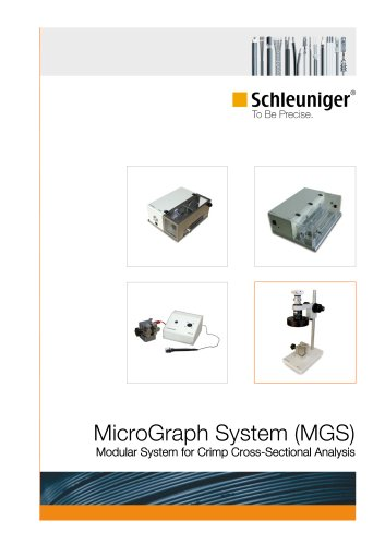 MicroGraph System Modular System for Crimp Cross-Sectional Analysis