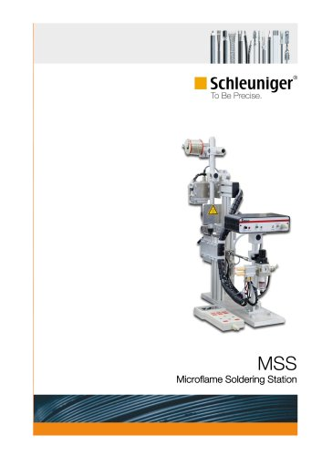 MSS Microflame Soldering Station 2010