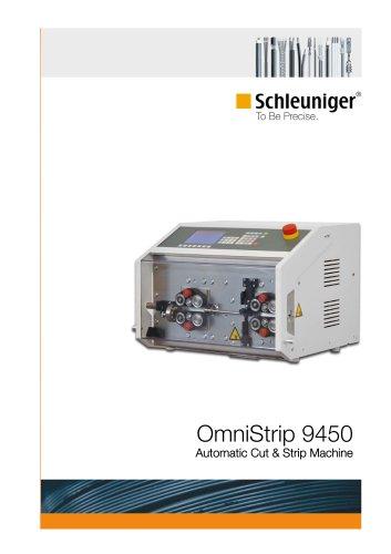 OmniStrip 9450 automatic cut & strip machine