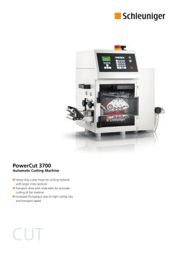 PowerCut 3700 Datasheet