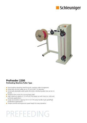 PreFeeder 2200 Data Sheet