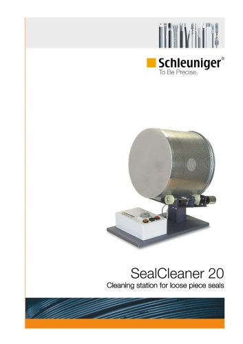 SealCleaner 20 Cleaning station for loose piece seals
