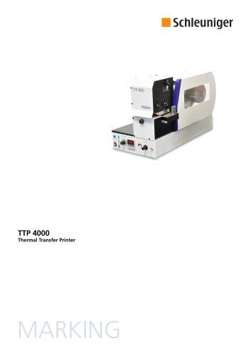 TTP 4000 Data Sheet