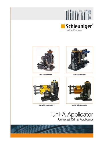 Uni-A Universal crimp applicator