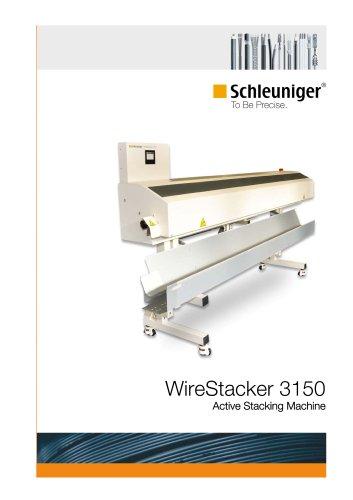 WireStacker 3150 Active stacking machine