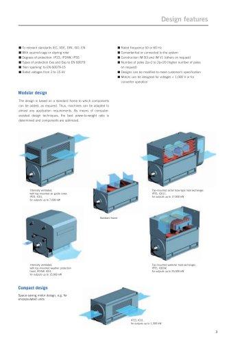 Modular design up to 25,000 kW