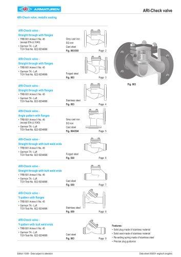 ARI-Check valve