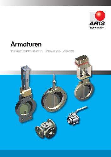 Catalogue Industriearmaturen