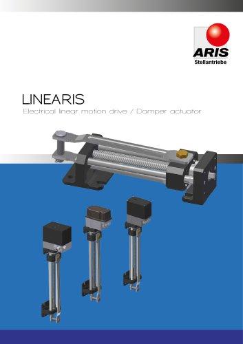 Linear motion drive/Damper actuator Linearis