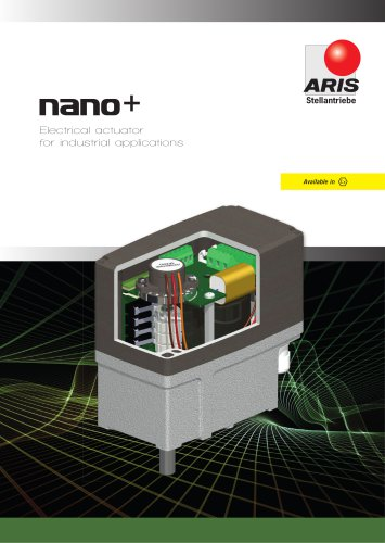 NANO+ - ELECTRO-MECHANICAL PART-TURN ACTUATOR