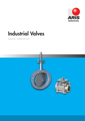 Product Overview Valves