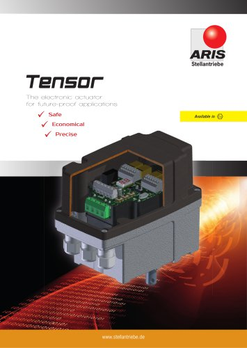 TENSOR - FULLY ELECTRONIC ROTARY DRIVE