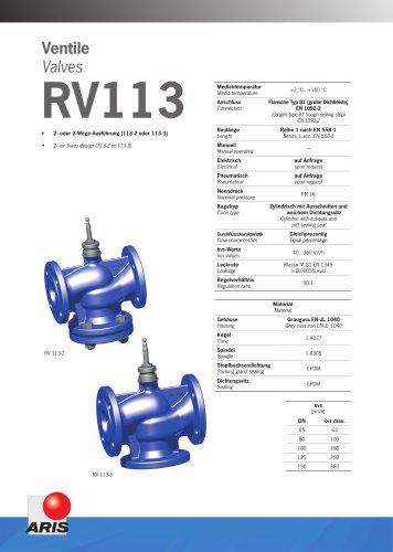 Valve RV 113