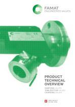 FAMAT Sampling Valves - Catalogue Septembre 2014