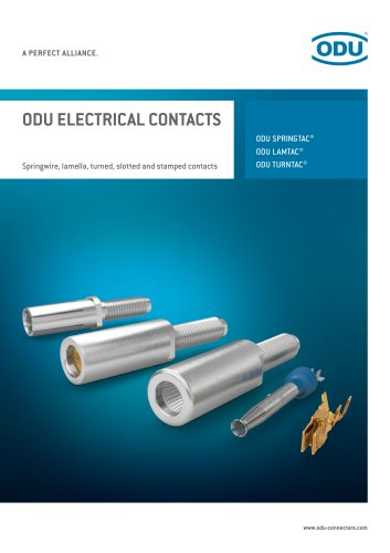Electrical Contacts - Springwire, lamella, turned, slotted and stamped contacts