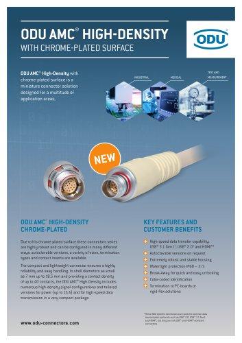 ODU AMC® High-Density Chrome