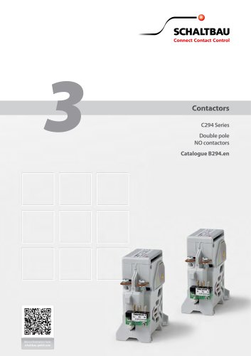 Double pole NO contactor C294