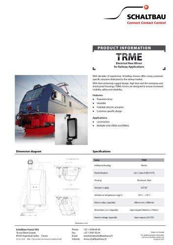 Electric rear mirror, TRME series