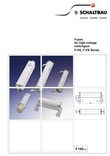 Fuses for high-voltage switchgear F-HS, F-VS