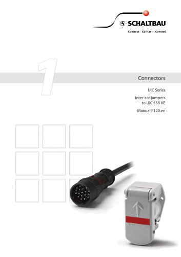 Manual, Connectors to UIC 558