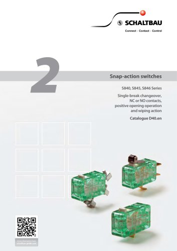 Snap-action switches, S840