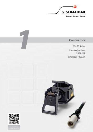 UIC connectors, jumper receptacle ZS552