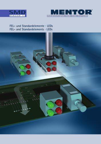MENTOR FEL- and Standardelements · LEDs